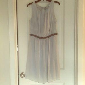 Benetton Blue/gray Dress - Size Medium